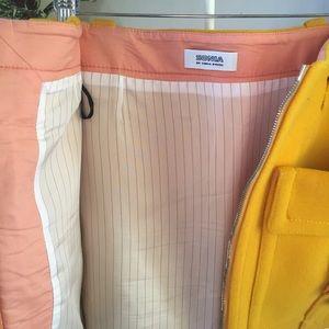 Sonia Rykiel Skirts - Sonia by Sonia Rykiel yellow wool mini skirt S